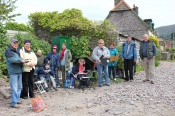 The group at Porlock Weir