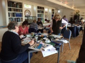 Art workshop at The Bembridge Sailing club