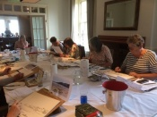 Art workshop at The George Hotel