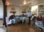 art workshop at Bembridge sailing club